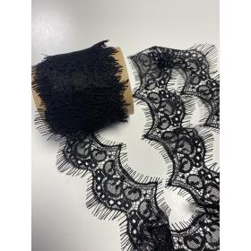 Кружевная лента, черная