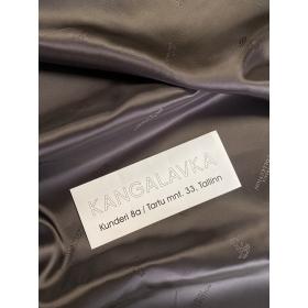Versace Collection подкладка вискоза, коричневая