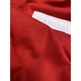 Костюмная ткань, красная