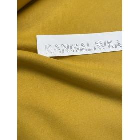 Шерстяная ткань, жёлтая
